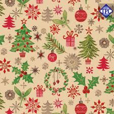 christmas kraft wrapping paper wrapping paper kraft christmas brown 50cm x 100m