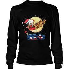 snoopy christmas sweatshirt snoopy christmas decoration sweater hoodie longsleeve t shirt