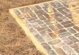 Installing Patio Pavers On Sand How To Build A Paver Patio Bob Vila