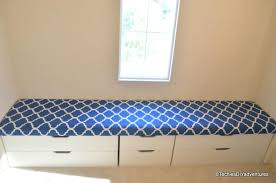 stolmen bed hack window seat with storage another ikea hack using stolmen drawer