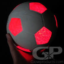 glow balls light up led soccer glowing soccer balls glowproducts
