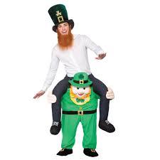 Carrying Halloween Costume Carry Leprechaun Costume Peeks