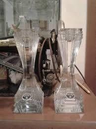 candelieri cristallo coppia candelieri cristallo piombo bohemia a folignano kijiji