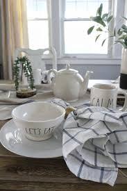 a rae dunn tablescape u2014 aratari at home
