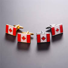 Flag Of Canada Aliexpress Com Buy Starlord Maple Leaf Cufflinks For Mens Flag