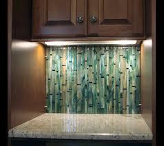 Bamboo  Basketweave Designer Glass MosaicsDesigner Glass Mosaics - Bamboo backsplash