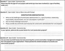 construction management challenges and best practices for rural