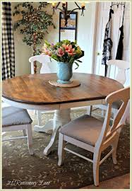 Lane Dining Room Furniture by 21 Rosemary Lane Freshened Up Kitchen Table And Chairs
