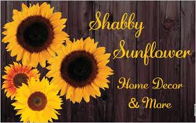 Sunflower Home Decor Shabby Sunflower Home Facebook