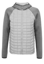 the jackets gilets winter jacket moon mist grey