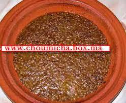 cuisiner lentille lentilles à la tomate choumicha cuisine marocaine choumicha