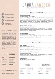 best 25 cv format in word ideas on pinterest curriculum vitae
