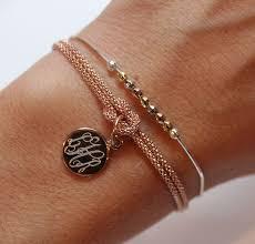 monogrammed bracelets swell caroline giveaway rustic wedding chic