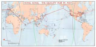 World Wide Map Submarine Cables U2013 Maps 1901 1991 Worldwide Hong Kong Networks