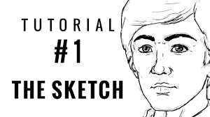 beginner u0027s digital art tutorial 01 the sketch youtube