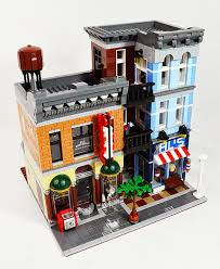 lego office review 10246 detective s office lego town eurobricks forums