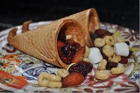 cone cornucopia snack the seasoned