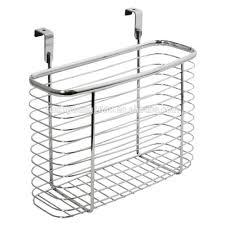 Over The Cabinet Door Basket by Over Door Storage Basket Rack Over Door Storage Basket Rack