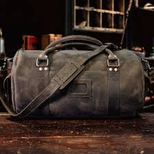 mens travel bag images Travel duffle bag for men dark walnut leather buffalo jackson jpg