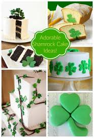 Shamrock Decorations Home Too Cute Shamrock Cakes B Lovely Events