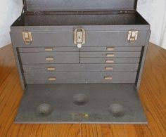 Kennedy Tool Box Side Cabinet Kennedy Mc 22 2 Drawer Machinist Tool Box Riser Machinist Tool