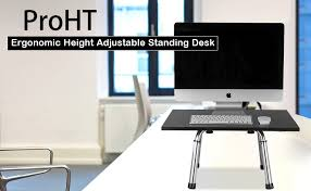 amazon com proht executive standing desk with adjustable height