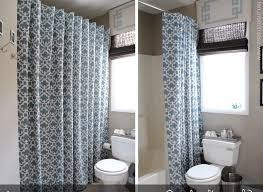 bathroom with shower curtains ideas beautiful blue floral target shower curtain ideas in bathroom