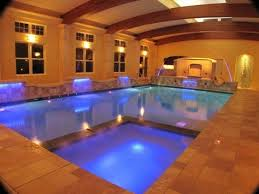 indoor swimming pool with waterfall swimming pools pinterest