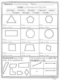 pattern games for third grade geometry name the polygon and decompose shapes 7 page free