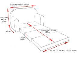 children u0027s kids bed baby sofa foam set 2in1 pillow free p u0026p and