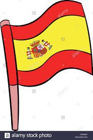 Picture Of Spain Flag Flag Of Spain Icon Cartoon Stock Vector Art U0026 Illustration Vector
