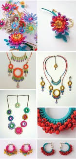 necklace pattern collection images Crochet earrings pattern collection crochet hoop earrings jpg