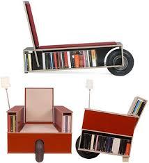 Bookshelf Chair Neat Seats 14 Crazy Creative Modern Chair Designs Urbanist