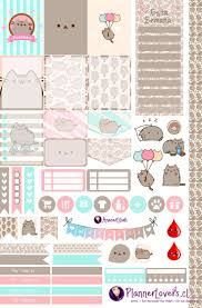 homemade planner templates 1066 best diy planner stickers images on pinterest free planner pusheen free printable stickers by anacarlilian