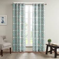Aqua And Grey Curtains Park Curtains Drapes For Less Overstock