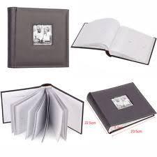 Photo Album Black Pages Photo Albums U0026 Storage Equipment Ebay