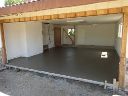 garage room garage slab replaced with level slab for room conversion solano