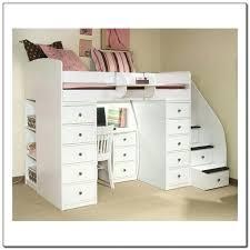 white loft bed with desk full size loft bed with desk white full size loft bed with desk and