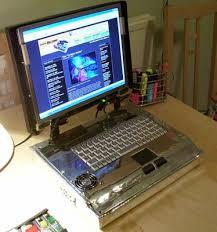 Laptop Mini Desk Make Your Own Laptop Using Mini Itx Components