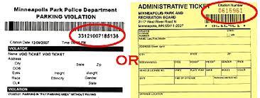 tickets citations