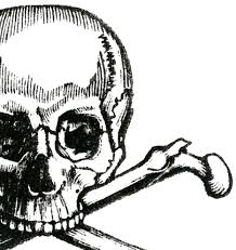 early halloween image skull and crossbones the graphics fairy