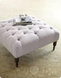 Tufted Coffee Table Square Tufted Ottoman Coffee Table Ottoman Is Similar To The