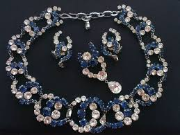 vintage blue stone necklace images 83 best sets vintage retro old antique jewellery jewelry jpg
