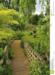 japanese style garden stock photo image 41647122