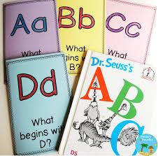 De Seuss Abc Read Aloud Alphabeth Book For Alphabet Project For Read Across America Week Activities