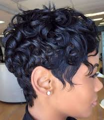 Reat African American Pixie | 60 great short hairstyles for black women messy pixie pixies and