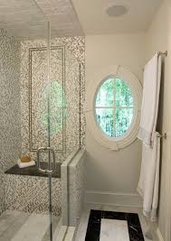 Bathroom Shower Stalls With Seat Glass Shower Stall Traditional Bathroom Other By Lasley