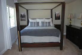 King Size Canopy Beds Diy King Size Canopy Bed Frame U2014 Vineyard King Bed King Size