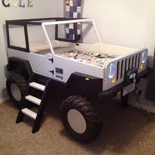 jeep kid jeep bed plans twin size car bed by jeepbed on etsy c