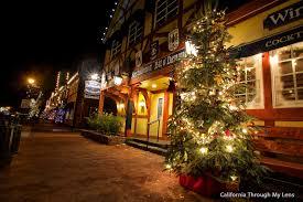 Christmas Town Decorations Solvang A Danish Village At Christmas California Through My Lens